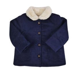 Frida y Yo - LAPETITECOLLECTION - abrigo retro marino